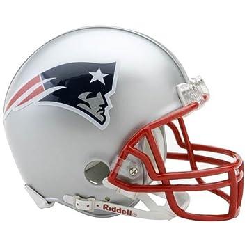 New England Patriots Mini oficial NFL Riddell casco: Amazon.es: Deportes y aire libre