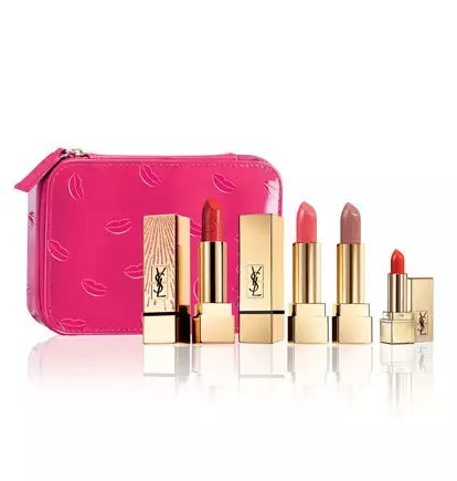 Yves Saint Laurent Beaute Limited Edition Ultimate Lip Set with Cosmetic Case by Yves Saint Laurent
