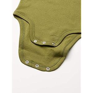 Amazon Essentials Unisex Baby 7-Pack Short-Sleeve Bodysuits, Pack of 7