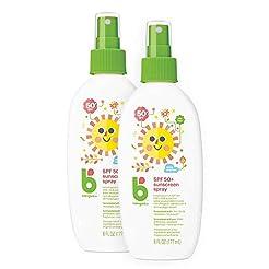 Babyganics Sunscreen Spray 50 SPF, 6oz, ...