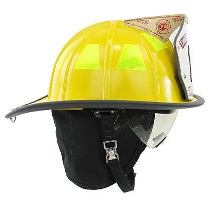 Cairns 1044 Helmet, Yellow, NFPA, OSHA - 1044 w/Innerzone 2 Goggles, Std, Yellow