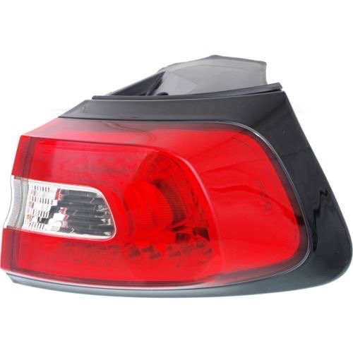 Go-Parts OE Replacement for 2014-2016 Jeep Cherokee Rear Tail Light Lamp Assembly/Lens / Cover - Right (Passenger) Side Outer 68102906AF CH2805107 for Jeep Cherokee ()