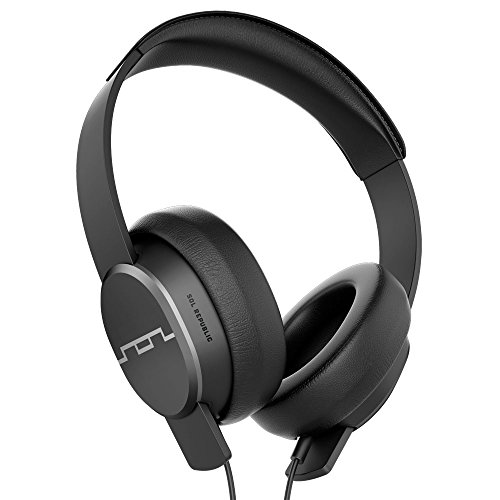 Sol Republic 1601-30 Master Tracks Over-Ear Headphones, Gunmetal (Sol Republic Master Tracks Over Ear Headphones Gunmetal)