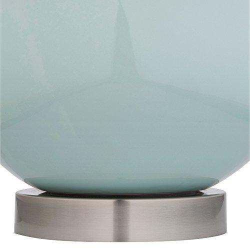 Stone & Beam Cyan Ceramic Lamp, 20