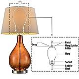 ECUDIS Lamp Harp Holder Lamp Shade Harp with