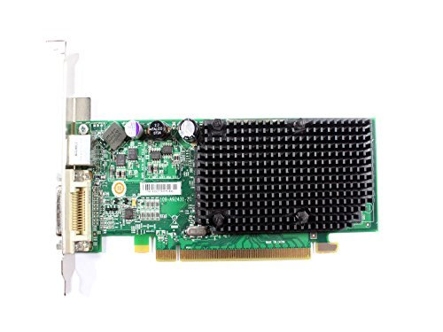 Genuine ATI X1300 Pro 256MB PCI-E Full Height High Profile Video Graphics Card With Dual DVI Capability DMS-59, S-Video, Compatible Dell Part Number: GJ501 Ati Radeon X1300 Pro