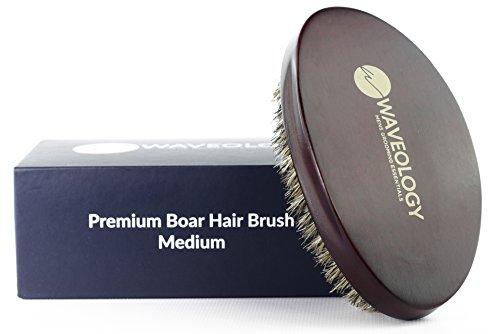 o. - Supreme 360 Curved Wave Brush - Medium/Soft - 100% Boar (360 Wave Pomade)