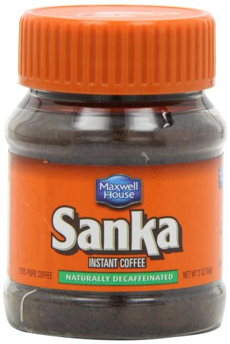 (Sanka Instant Decaf Coffee (2 oz Canisters, Pack of 12) )