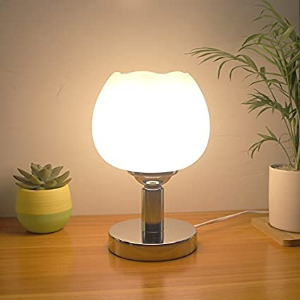 SET Lámpara de Mesa Lámparas de Cama Dormitorio Creativo ...