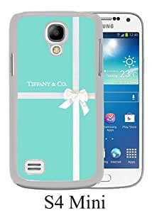 Beautiful And Unique Designed Case For Samsung Galaxy S4 Mini With Tiffany and Co 38 white Phone Case