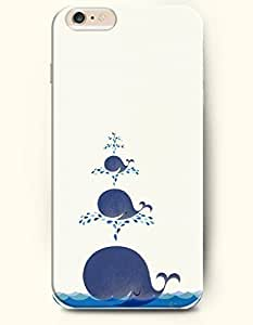 iPhone 6 Case,OOFIT iPhone 6 (4.7) Hard Case **NEW** Case with the Design of Tree Whale and Fountain - ECO-Friendly Packaging - Case for Apple iPhone iPhone 6 (4.7) (2014) Verizon, AT&T Sprint, T-mobile