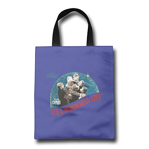 K-Fly2 George Bailey It's A Wonderful Life Shopping Bag Tote Bag One Size