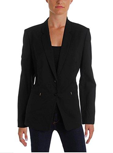 BOSS Hugo Boss Womens Jimondi Wool Textured Two-Button Blazer