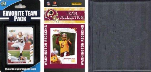 NFL Washington Redskins Licensed 2010 Score Team Set and Favorite Player Trading Card Pack Plus Storage (Washington Redskins Nfl Trading Cards)