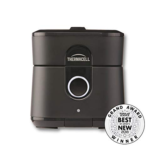 Radius Zone Mosquito Repeller from Thermacell, Gen 2.0, Black; No Spray Mosquito Repellent; Rechargeable; Protect Outdoor Areas from Insects for 6.5+ Hours Per Charge; Easy to Use, Scent and DEET-Free (Best Outdoor Mosquito Repellent Reviews)