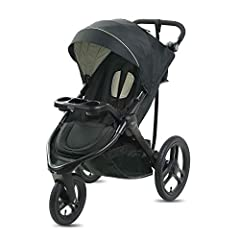 Graco FitFold Jogger Stroller folds down to 30% of its original size making it Graco's most compact folded jogging stroller. It also has a removable stroller seat to convert into a lightweight infant car seat carrier for more modes of use. Th...