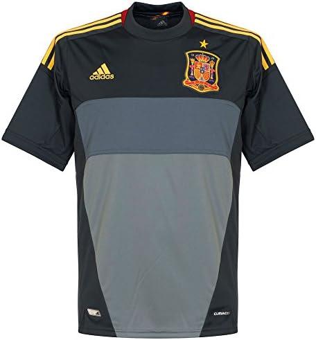 adidas Camiseta Portero España Gris Talla L: Amazon.es: Deportes y ...