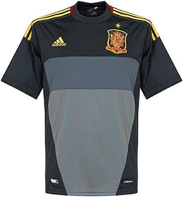 adidas Camiseta Portero España Gris Talla XL: Amazon.es: Deportes y aire libre