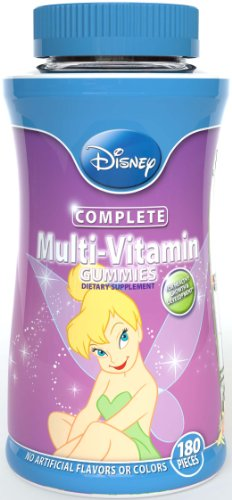 Disney Fairies Gummies multivitamines, 180 comte