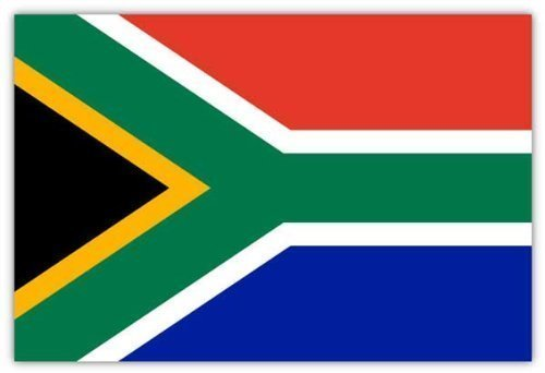 South Africa National African 5Ft x 3Ft Flag by Macallen TM by Macallen Tm
