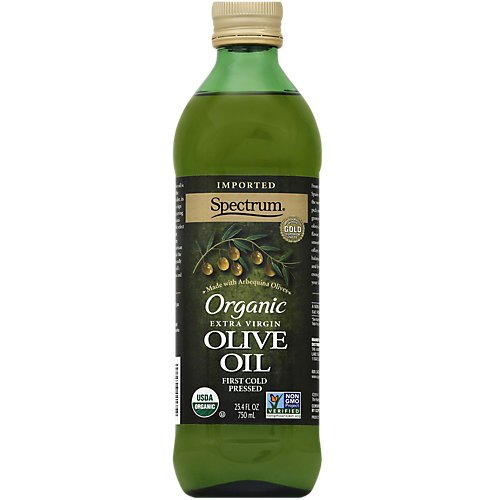 Spectrum Organic Olive Oil, Unrefined Extra Virgin, 25.4 Ounce by Spectrum