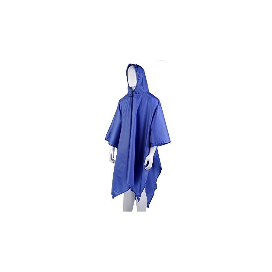 Ubeone Multi Purpose Rain Poncho, Backpack Cover, Tarp with Hoods for Outdoor Activities