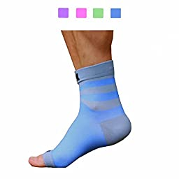 Plantar Fasciitis Sock, Compression Socks for Men Women Nurses Runners Ankle Sleeve for Arch and Achilles Heel Pain and Support