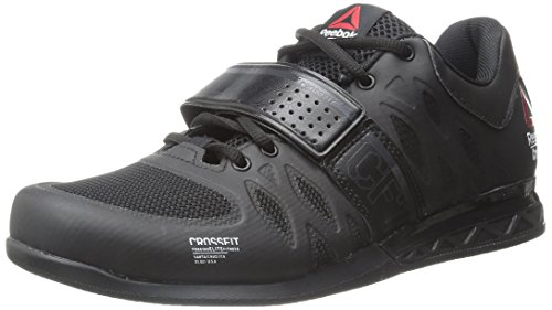 Reebok Men's Crossfit Lifter 2.0 Training Shoe, Black/Coal, 10.5 M US