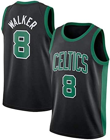 セルティック#8ウォーカーバスケットボールユニフォームジャージ男性スポーツベストトレーニングスーツ