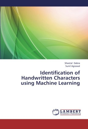Identification of Handwritten Characters using Machine Learning ebook