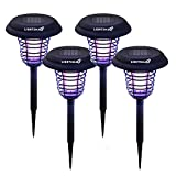 6. LIGHTSMAX Solar Powered Light, Mosquito and Insect Bug Zapper-LED/UV Radiation Outdoor Stake Landscape Fixture for Gardens, Pathways, and Patios (4)