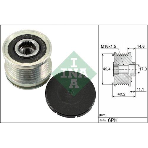 LUK 535012410 Freewheel Clutch: alternator: