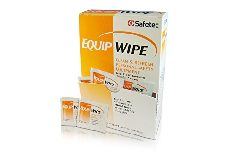 Safetec Equip Wipe (Surface Cleaner) 100 ct. box (10 boxes/case)