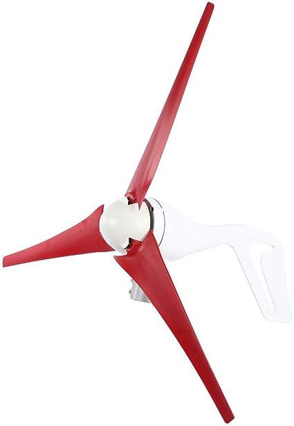 【Especial de Año Nuevo 2021】Kit de generador de viento, generador de molino de viento de nailon de 630 mm, molino de viento eléctrico, equipo industrial de 12 V, equipo electrónico para equipos de vie