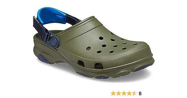 Crocs Classic Geometric Mule Clogs Navy//Mix  Men/'s 10M NWT.