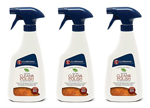 Guardsman Clean & Polish For Wood Furniture - Woodland Fresh - 16 oz Spray - Silicone Free, UV Protection - 461100 (3-(Pack)) by  (Image #3)