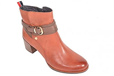 5a7be5f96 Tommy Hilfiger Harper 5A FW56817476  215 Burnt Gravel Coffee Ankle Boots Brown  Size  7