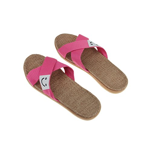 (Made By Flax) Skidproof Le Style Simple De Pantoufles(Café) xij8g84o8u