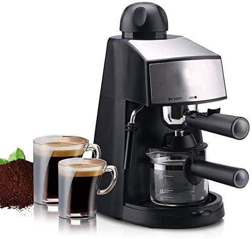 Nuokix Doméstico Cafetera Barista Profesional Bomba Máquina de café Espresso Semi automático de Acero Inoxidable