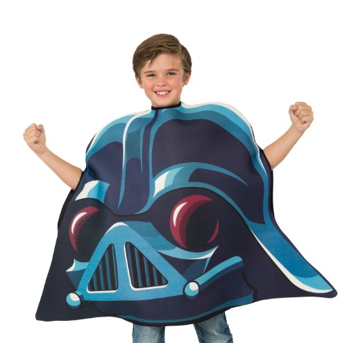 [Angry Birds Star Wars Darth Vader Child's Costume Tunic, One Size] (Blue Bull Mascot Costume)