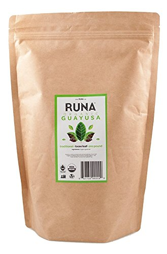 RUNA Organic Guayusa Loose Leaf Tea, 1 Pound (16oz) | Packed with Natural Caffeine for Clean Energy | Antioxidant...