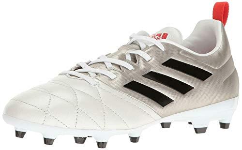 adidas Women's ace 17.3 fg w Soccer Shoe, Platino Black/Core Red S, 9 M US