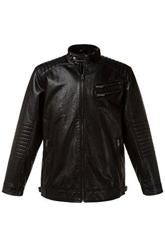 JP 1880 Homme Grandes tailles Veste de motard noir 6XL 708450 10-6XL