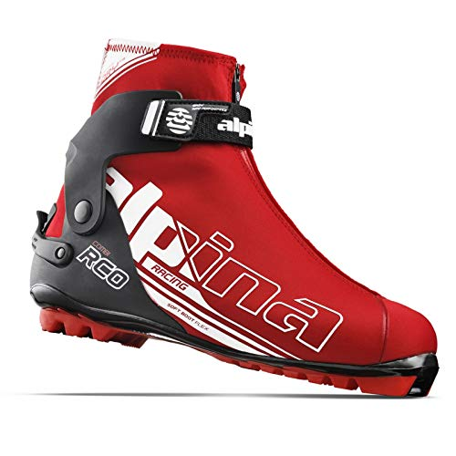 Alpina R Combi Ski Boots - 45 - Red/Black/White