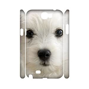 EZCASE Cute Dog Phone Case For Samsung Galaxy Note 2 N7100 [Pattern-1]
