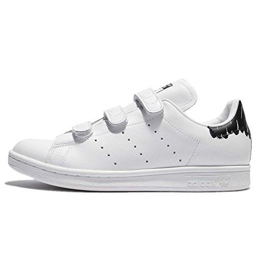 adidas Originals Womens Stan Smith CF W Sneaker White/White/Black