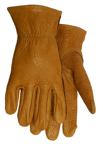American Made Buffalo Leather Work Gloves, 650, Size: Extra Large (XL) by Midwest Gloves & Gear