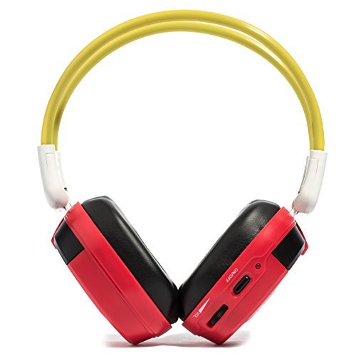 Bravo View Kid Friendly Automotive IR Wireless Headphones (Red) Color: Red Style: Single Source, Model: IH-06A, Electronics & Accessories (Single Source Wireless Headphones)