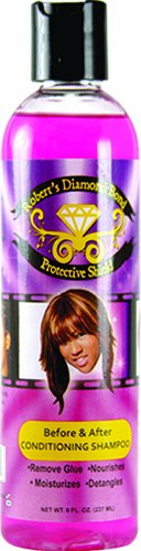 Roberts Diamond Bond Protective Shield Before and After Shampoo, 8 Ounce ()