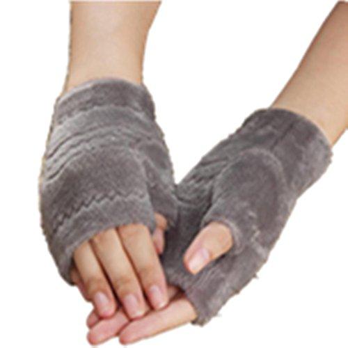 [Malltop Unisex Autumn Winter Thicken Warm Mittens Keyboard Outdoor Sports Fingerless Gloves] (Pretty Little Liars Halloween Costume)